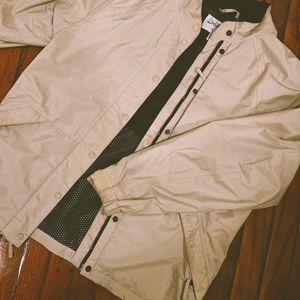 Beige Dry Joys Windbreaker Jacket